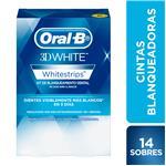 Tiras Blanqueadoras ORAL B Whitestrips Caja 14 Sobres