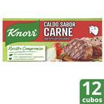 Caldo KNORR Carne Caja 114 Gr