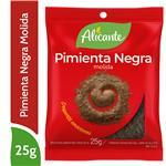 Pimienta Negra Molida Alicante  Sobre 25 Gr