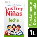 Leche Des.Lv Tradicion Cali Tres Niñas Ctn 1 Ltr