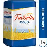 Harina De Trigo Favorita  0000 Paquete 1 Kg