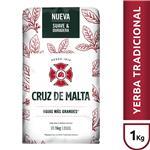 Yerba Mate CRUZ DE MALTA Con Palo Paquete 1 Kg