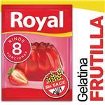 Gelatina ROYAL Frutilla    Sobre 40 Gr