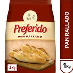 Pan Rallado Preferido  Paquete 1 Kg