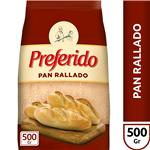 Pan Rallado Preferido  Paquete 500 Gr