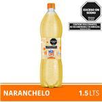 Agua Saborizada Con Gas H2OH! Naranchelo Botella 1.5 L