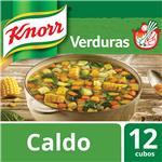 Caldo En Cubos KNORR Verduras Caja X 12 Cubos