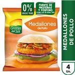 Medallones Empanad /Pollo Granja Del Paq 330 Grm