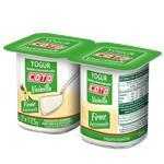 Yogur Descremado Firme COTO Vainilla Pak 2 Uni 125 Grm