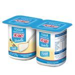 Yogur Entero COTO Firme Vainilla Pak 2 U 125 Grm
