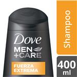 Shampoo DOVE Fuerza Extrema Botella 400 ML