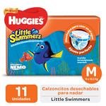 "Pañales  HUGGIES Little Swimmers   ""M"" 11 Unidades"