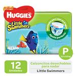 "Pañales HUGGIES Little Swimmers ""P"" 12 Unidades"