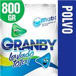 Jabón En Polvo GRANBY  Matic  Paquete 800 Gr