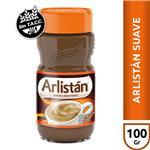 Café Instantáneo ARLISTAN  Suave Y Espumoso Frasco 100 Gr