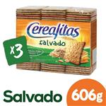 Galletitas De Salvado CEREALITAS Paq 606 Grm