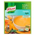 Sopa Crema Zapallo KNORR    Light Sobre 33 Gr