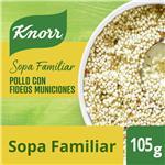 Sopa Pollo Con Fideos Municiones KNORR     Sobre 84 Gr