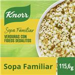 Sopa Verduras Con Fideos Dedalitos KNORR     Sobre 92.5 Gr