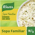Sopa Verduras Con Arroz KNORR     Sobre 79 Gr