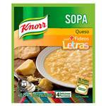 Sopa Queso Con Fideos Letras KNORR     Sobre 84 Gr