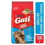Alimento Para Gato GATI Pescado, Arr Y Esp Bsa 500 Grm