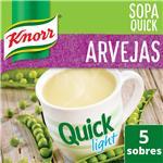 Sopa Arvejas KNORR Quick Light Caja X 5 Sobres