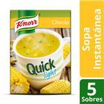 Sopa Choclo KNORR Quick Light Caja X 5 Sobres