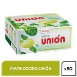 Mate Cocido Union   Suave Caja 50 Saquitos