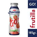 Yogur Entero YOGURISIMO Go! Frutilla Bebible Bot 185 Gr