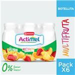 Leche Fermen. 0% Multifruta Vit Actimel X 600 Grm
