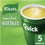 Sopa Vegetales KNORR  Quick  Caja X 5 Sobres