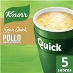 Sopa Pollo Con Mix De Vegetales KNORR  Quick  Caja X 5 Sobres