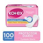 Protector Diario Kotex Cuidado Diario Multiestilo X100