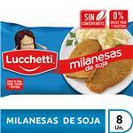 Milanesa De Soja LUCCHETTI Clasicas Fwp 8 Uni 580 Grm