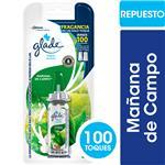 Desodorante De Ambiente GLADE TOQUE Mañanas De Campo Blister 9 Gr