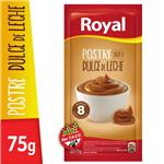 Postre Royal Dulce De Leche   Sobre 75 Gr