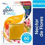 Aromatizante De Ambiente GLADE Néctar De Flores   Blister 8 Gr