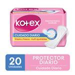 Protector Diario Kotex Cuidado Diario Multiestilo X20