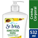 Crema St Ives Corporal Humectacion Diaria Bot 532 Ml