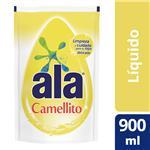 Jabón Liquido ALA Camellito Ropa Fina  Doypack 900 Cc