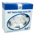 Set Tazas Para Auto TOP MOTORS Wj-5074-A-14 4 Uni