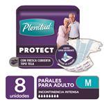 "Pañales Adulto PLENITUD Protect  ""M"" 8 Unidades"