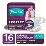 "Pañales Adulto PLENITUD Protect  ""XG"" 16 Unidades"