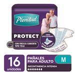 "Pañales Adulto PLENITUD Protect  ""M"" 16 Unidades"