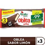 Oblea De Arroz Gallo Snacks Paq 60 Grm