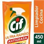 Limpiador CIF Antigrasa Doy 450 Ml