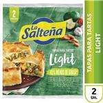 Tapa P/Pascualina Light Vb La Salteña Bsa 400 Grm