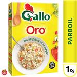 Arroz Largo Fino GALLO ORO     Caja 1 Kg