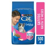 Alimento Cachorros PURINA CAT CHOW 500 Gr Carne Y Leche